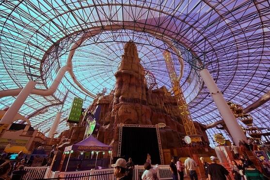 Destinasi Taman Hiburan Anak di Adventure dome Theme Park